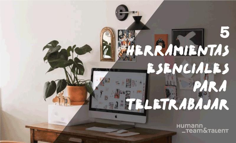 5 Herramientas esenciales para teletrabajar