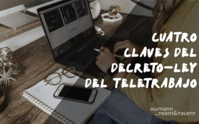 Cuatro claves del decreto-ley del teletrabajo