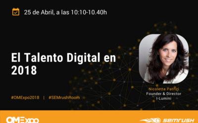I-Lumini participa como ponente en la SEMrushRoom en OMexpo 2018